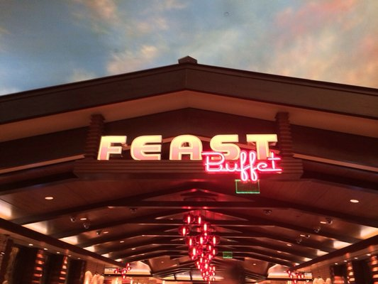 Boulder Station Feast Buffet Vegas