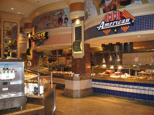 Sun Coast Saint Tropez International Buffet Vegas